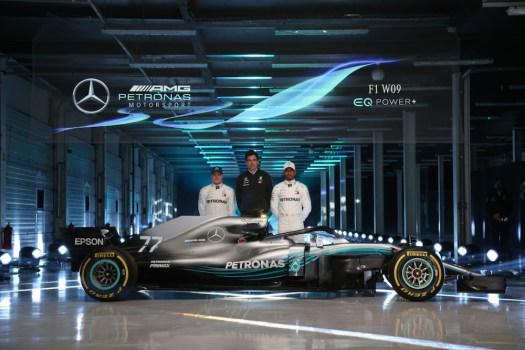 Mercedes-AMG Petronas F1 W09.