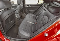2019 Kia Stinger GT Rear Seats