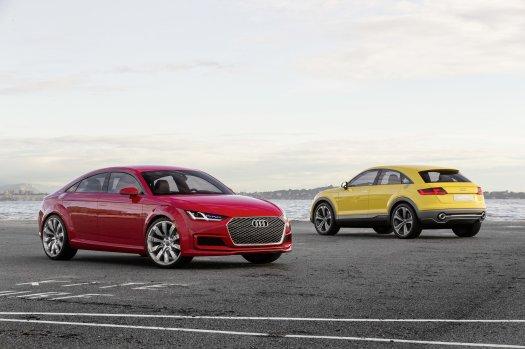 Audi TT Sportback and TT Offroad concepts