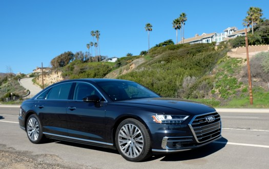 A8 is low-key on the outside, high-design inside