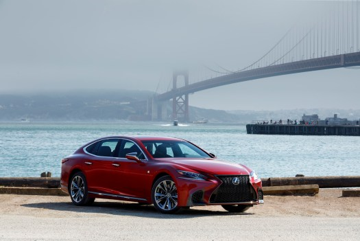 LS's athletic exterior greatly improves on its potato-bland predecessor