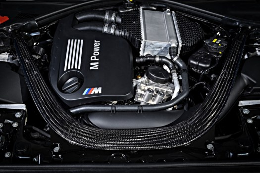 Big engine for the little M2: Twin-turbo inline six makes 405 hp