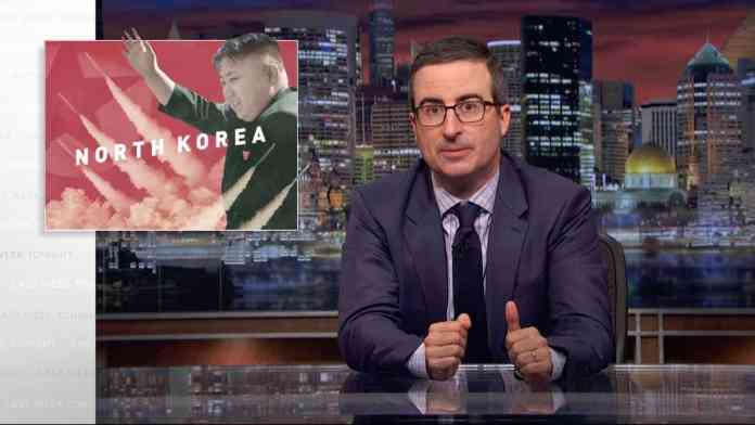 last week tonight north korea kim jong un