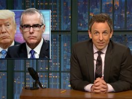 seth meyers andrew mccabe trump fbi director