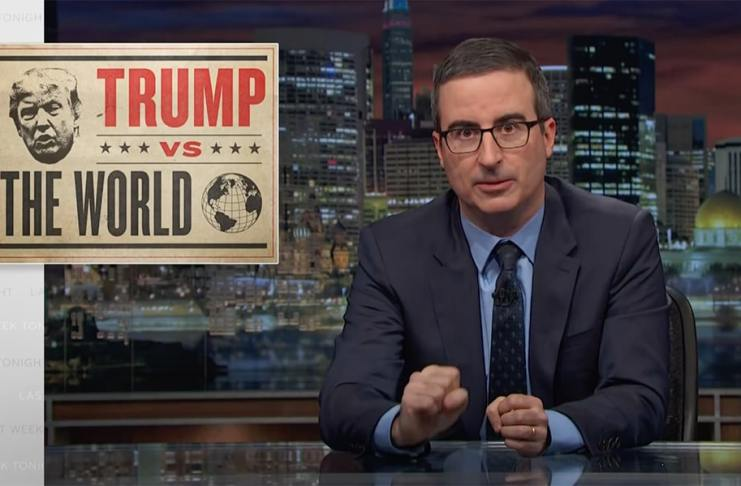 john oliver last week tonight foreign policy trump