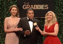 snl #metoo the grabbies oscars