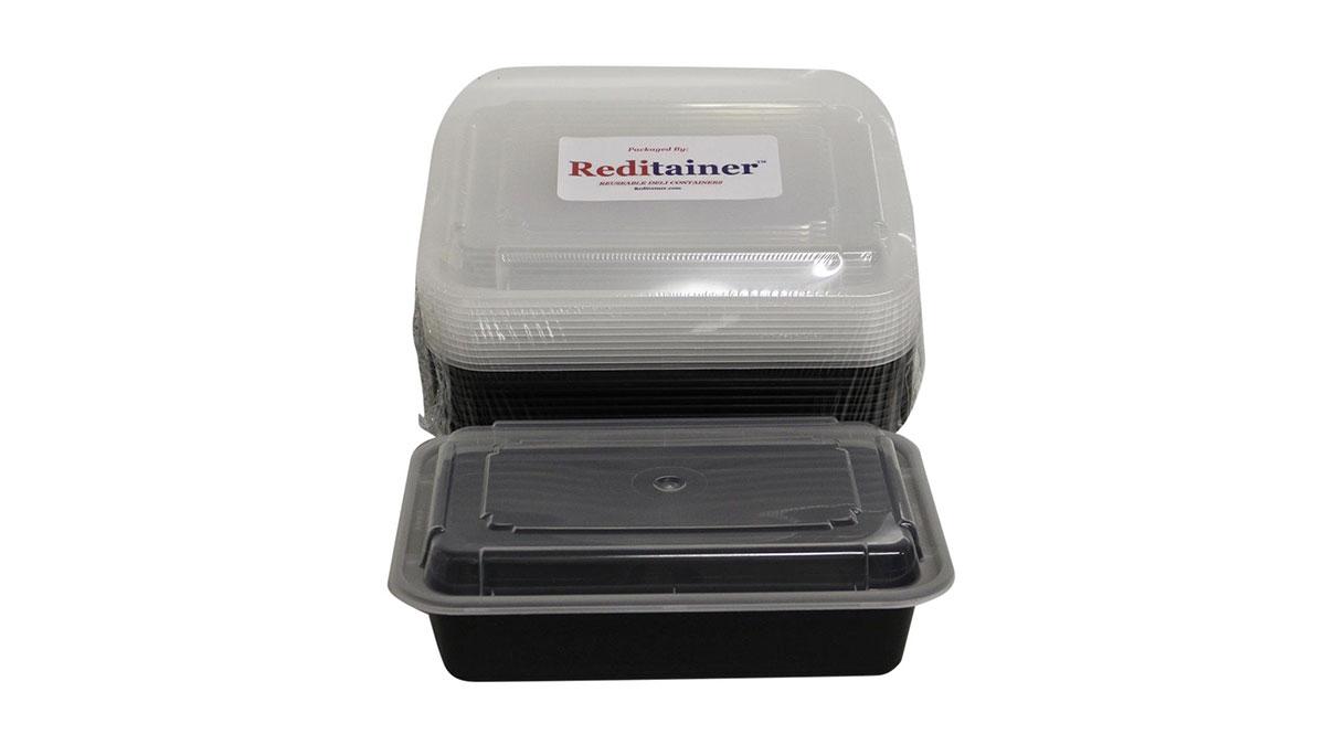 3 Divider Plastic Food Container