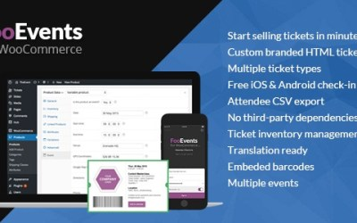 FOOEVENTS FOR WOOCOMMERCE V1.2.11