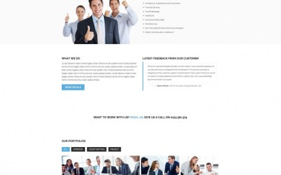 LT Business Responsive Business / Corporation Joomla Template – Free Jommla! template