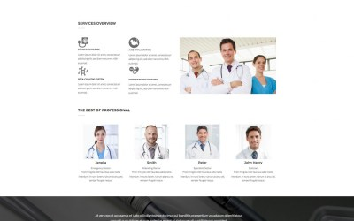 AT HOSPITAL – Joomla Template – Free Jommla! template