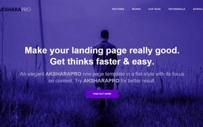 Free download Akshara Pro asp template