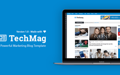 TechMag – News and Magazine BootStrap Template
