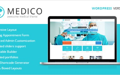Medico – Medical & Veterinary WP Theme