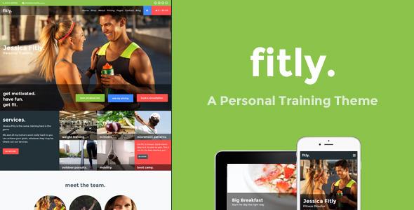 FITLY V1.1.0 – A PERSONAL TRAINING WORDPRESS THEME