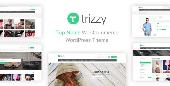 Trizzy 1.6.12 – Multi-Purpose WooCommerce WordPress Theme