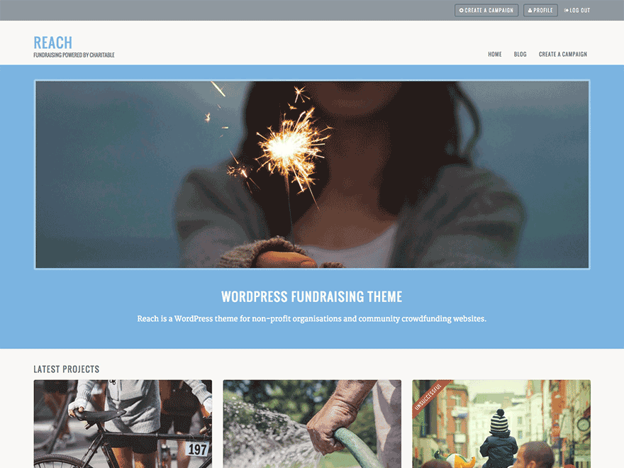 Reach – Business Portfolio WordPress Theme