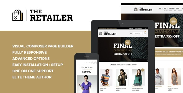 THE RETAILER V2.5.4 – RESPONSIVE WORDPRESS THEME