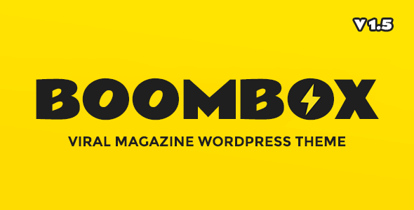 BOOMBOX V1.5.7 — VIRAL & BUZZ WORDPRESS THEME