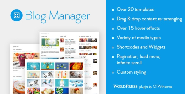 BLOG MANAGER FOR WORDPRESS V1.18