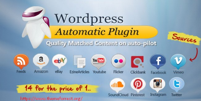 WordPress Automatic Plugin 3.26.1 nulled