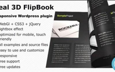 Real 3D FlipBook 2.35 – WordPress Plugin