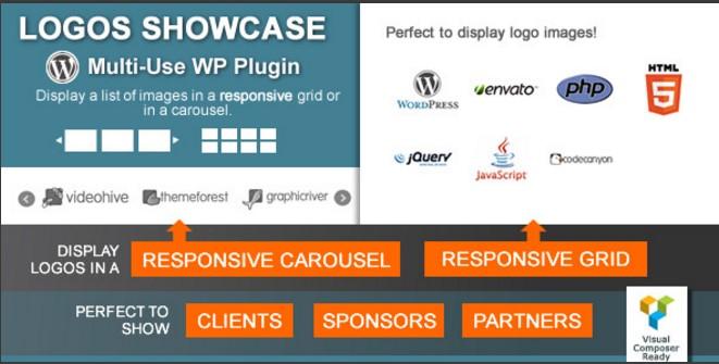 Logos Showcase 1.8.4 – Multi-Use Responsive WP Plugin