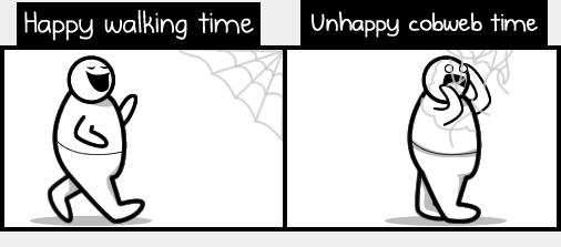 Why I hate cobwebs - Part 1