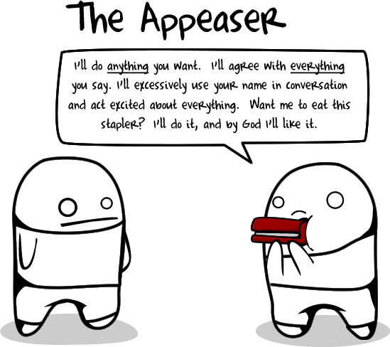 The appeaser