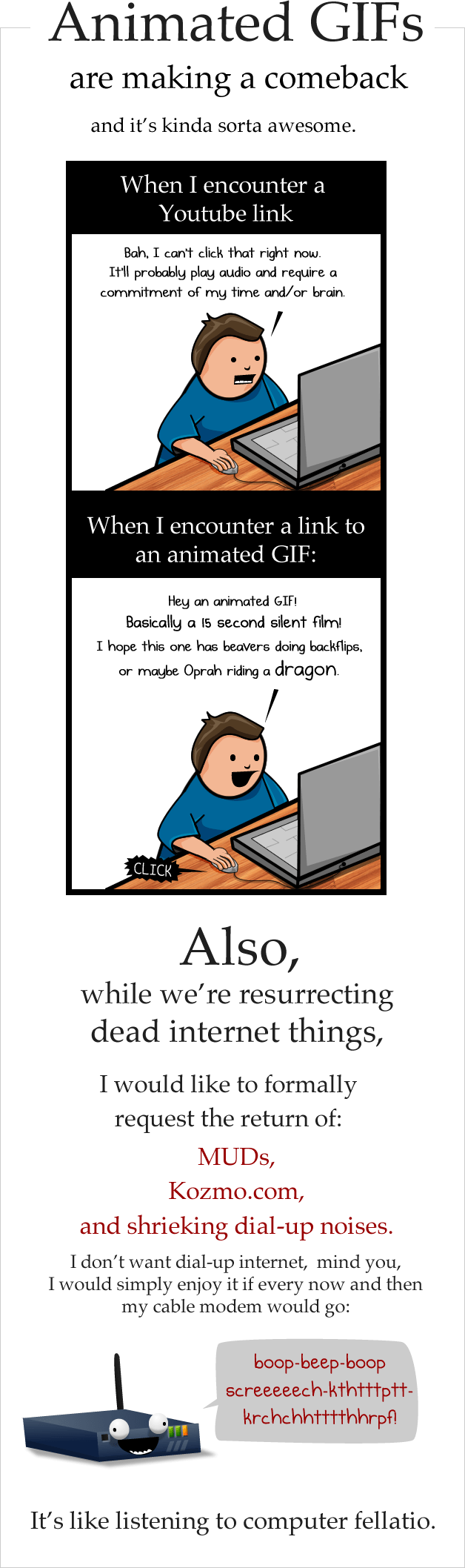 The State of the Web, Winter 2011-2013 - The Oatmeal