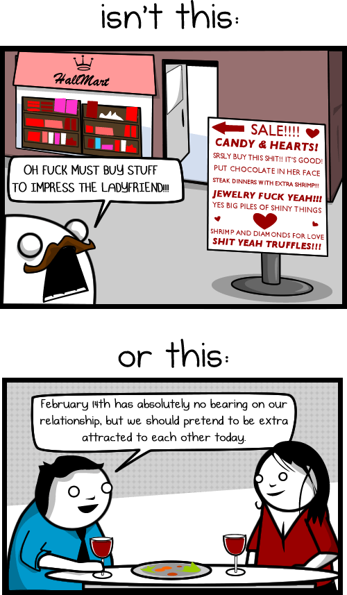 The Worst Thing About Valentines Day The Oatmeal