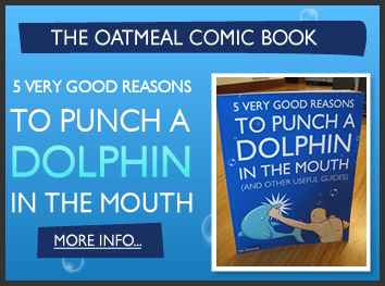 The Oatmeal Comic Book