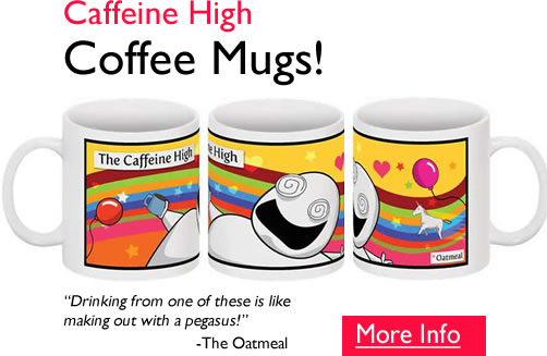 Caffeine High Coffee Mug