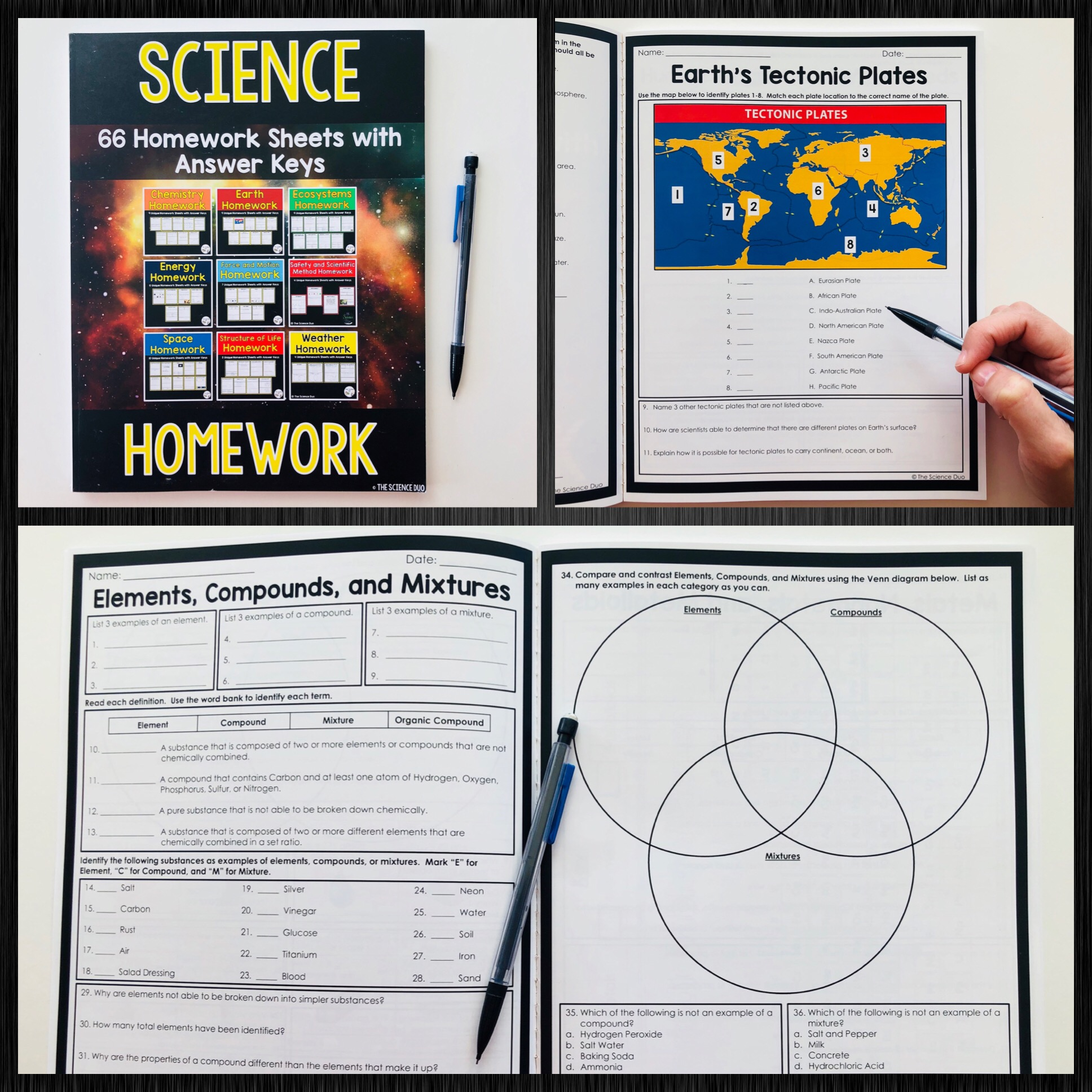 Bestseller 7th Grade Earth In Space Worksheet Answers