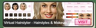 Virtual Hairstyler - 1000 de coafuri, 50 culori, 35 evidenţiază şi machiaj!
