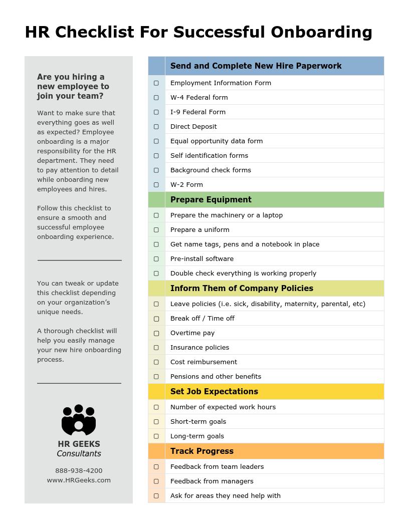 ☐ health, life, disability insurance. 15 Best Standard Operating Procedure Checklist Templates