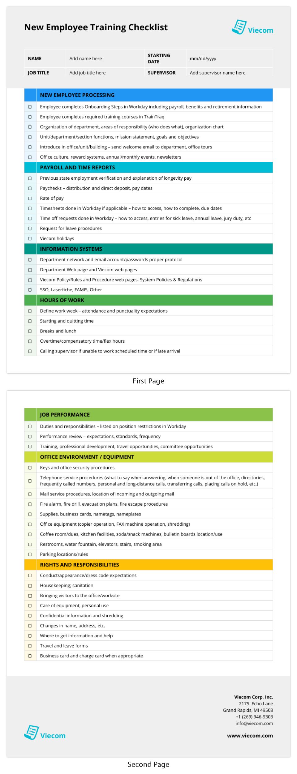 Forget about other tasks, but new hiring is a continuous process. 15 Best Standard Operating Procedure Checklist Templates