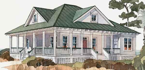 Inlet Retreat - Allison Ramsey Architects, Inc.