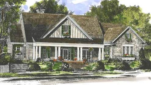 Southern Living House Plans   Country House Plans Country House Plans