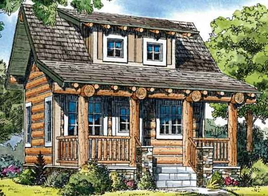 cabin House Plans   Southern Living House Plans Sl 644
