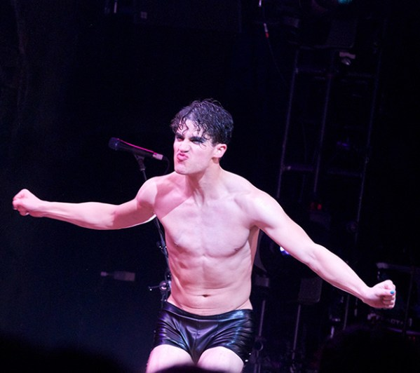Darren Criss Takes His First Curtain Call in Broadway's ...