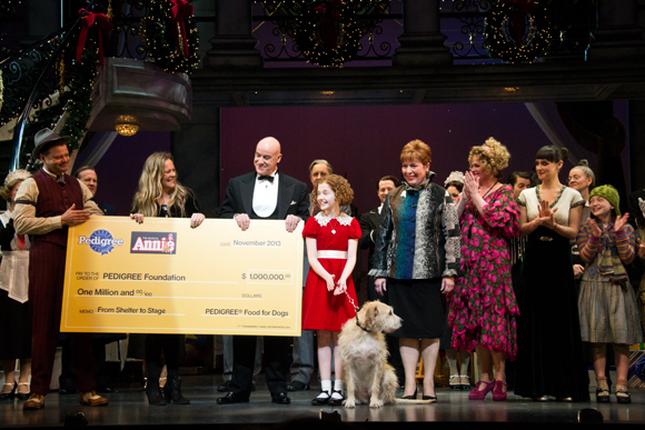 Broadway's Annie Presents Pedigree With a Million-Dollar ...