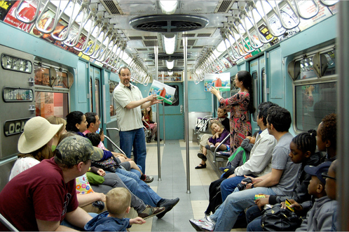 NY Transit Museum in Brooklyn, NY
