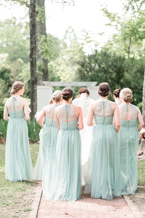 Romantic Pink And Green Southern Plantation Wedding