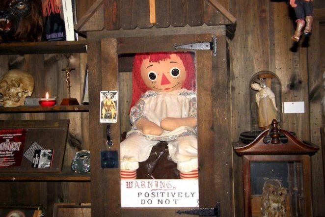 la muñeca annabelle real