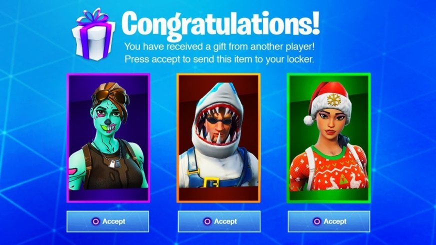 Fortnite Gifting System: How To Send Gifts In Fortnite ...