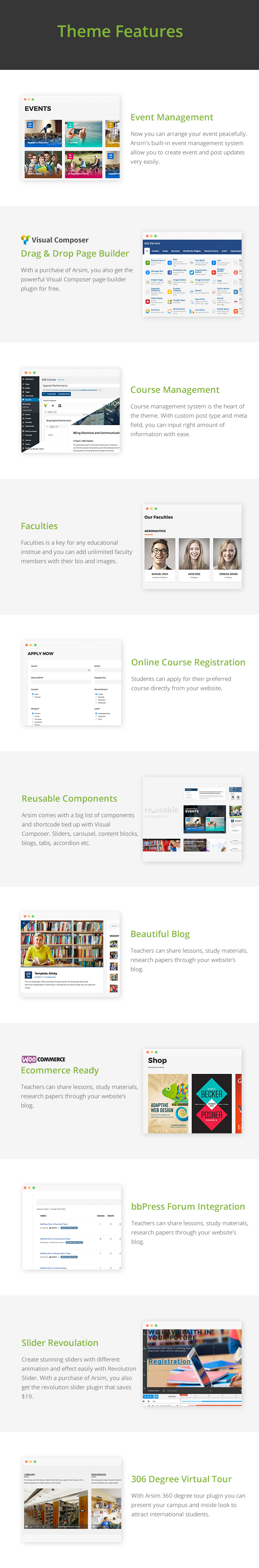 Arsim - WordPress Education Theme
