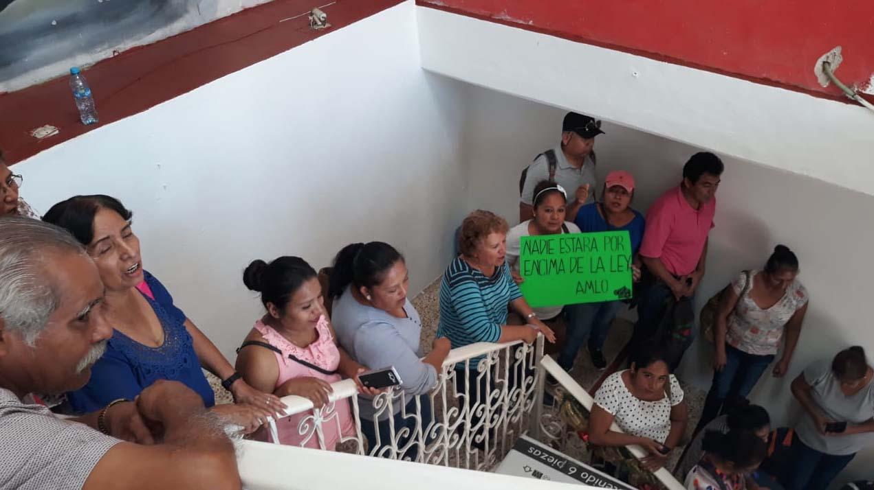 Protesta Ayutla, 070119