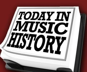 today in music history