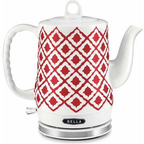 Bella Red Ceramic Kettle - Kitchen Things