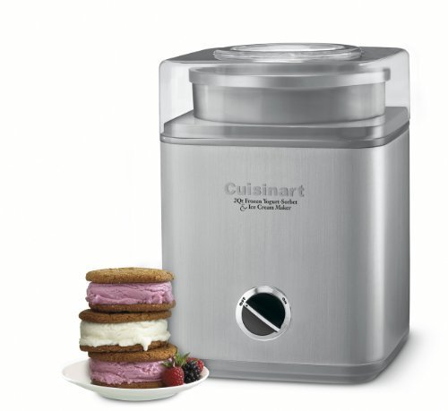 Cuisinart ICE30BC Pure Indulgence 2-Quart Automatic Frozen Yogurt Machine